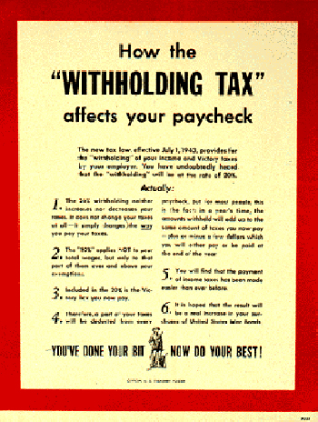 How The Withholding Tax Affects Your Paycheck