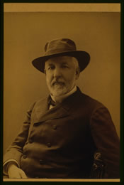 James G. Blaine, Secretary of State. Source: Prints and Photographs Division, Library of Congress.