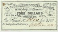 A Confederate bond.